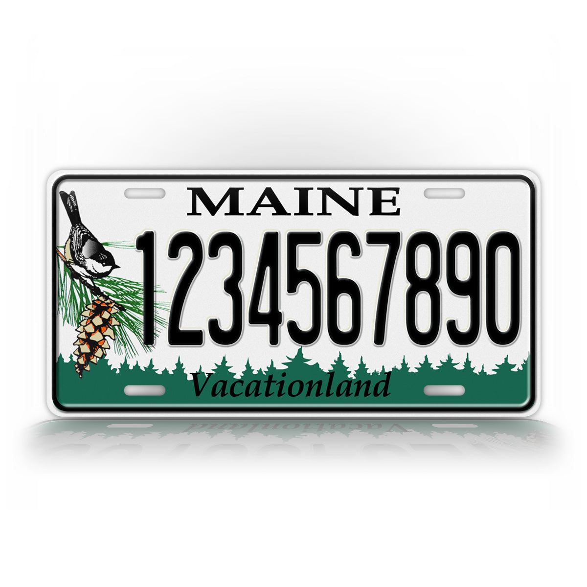 Customized Maine Any Text Auto Tag