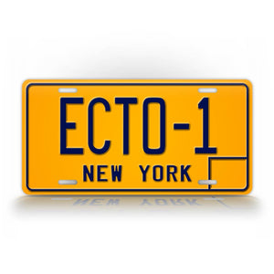 Ghostbusters Movie Replica Auto Tag New York License Plate