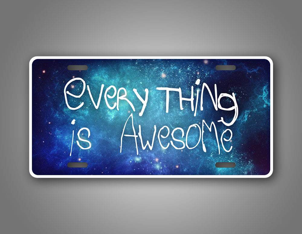 Everything Is Awesome Galaxy Auto Tag