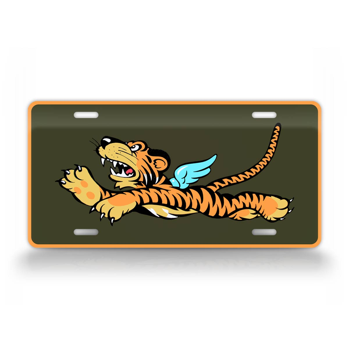 WWII Flying Tigers Emblem License Plate