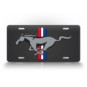 Ford Mustang GT Sports Car Classy License Plate