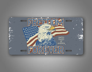 Freedom Forever United States License Plate