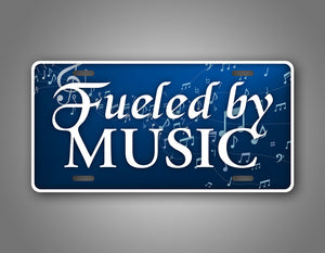 I Am Fueled By Music Auto Tag
