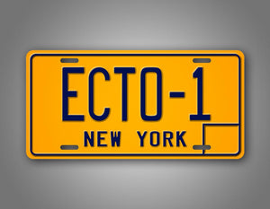 Ghostbusters Movie Replica License Plate New York Auto Tag
