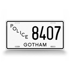 Gotham City Police Novelty License Plate