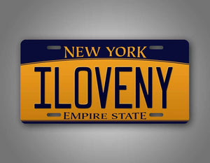 Custom Any Text New York Empire State License Plate Auto Tag