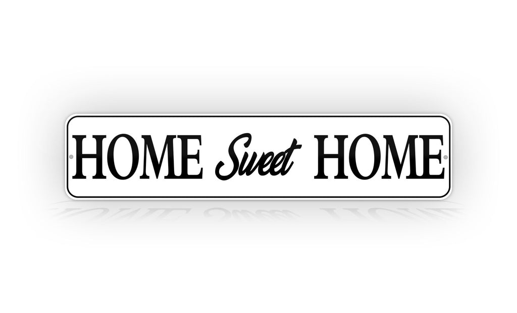 Classy Home Sweet Home Sign Wall Decoration