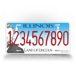 Illinois State Personalized License Plate