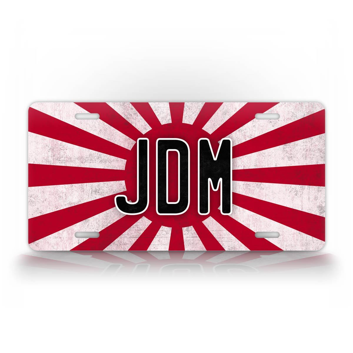JDM Japanese Rising Sun License Plate