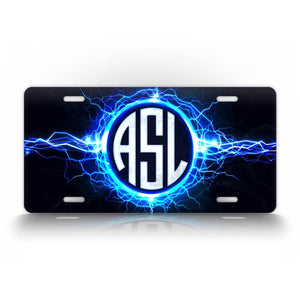 Custom Text Lightning Monogram Auto Tag