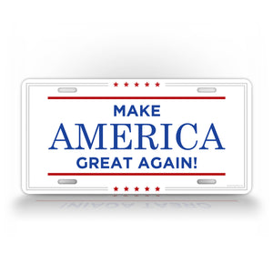 Trump Make America Great Again Auto Tag
