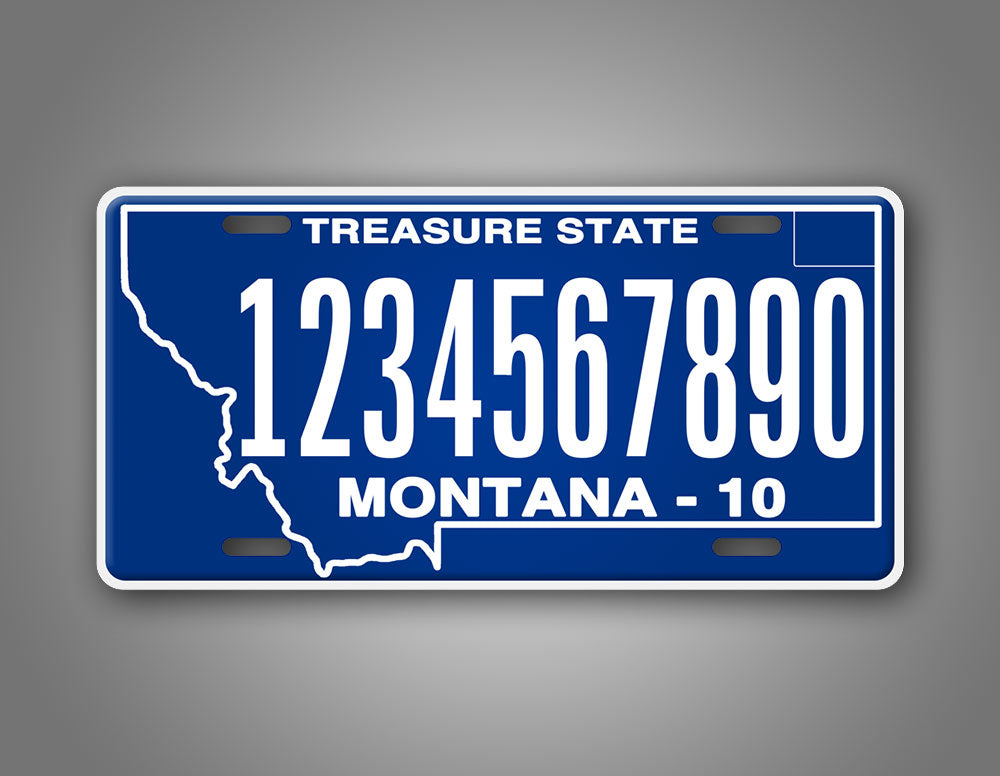 Montana State License Plate NoveltyTag
