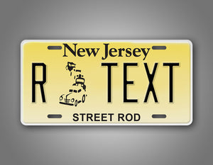 Any Text Novelty New Jersey Auto Tag