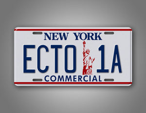Ghost Busters II New York License Plate Ecto-1 Auto Tag
