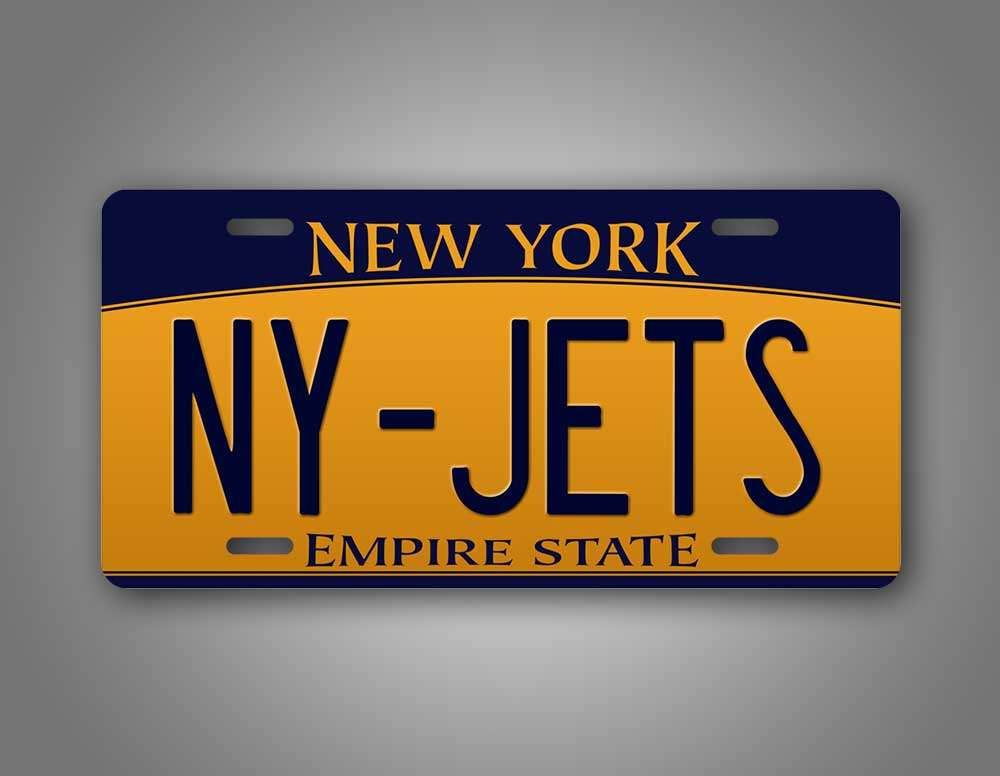 New Your Jets Auto Tag NY Jets License Plate