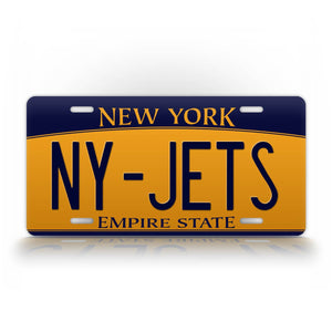 New Your Jets License Plate NY Jets Auto Tag