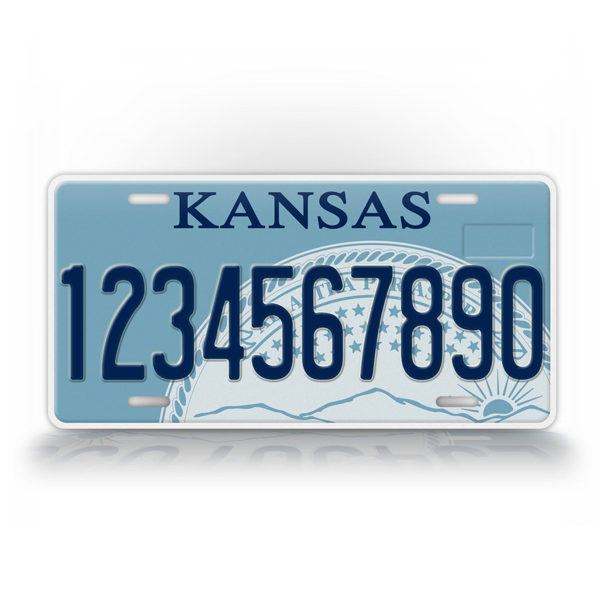 Personalized Novelty Kansas State License Plate