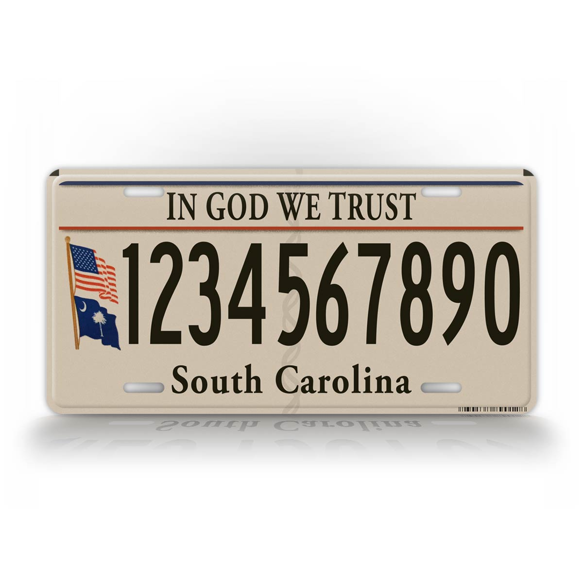 South Carolina Custom License Plate