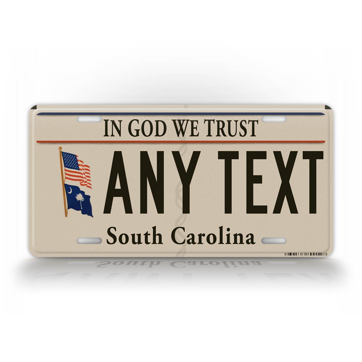 South Carolina Christian License Plate