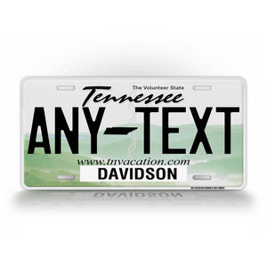 Custom Novelty Tennessee State License Plate