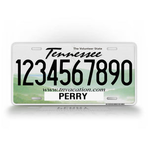 Custom Tennessee State Novelty Auto Tag