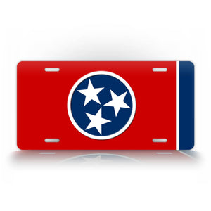 Tennessee State Flag License Plate