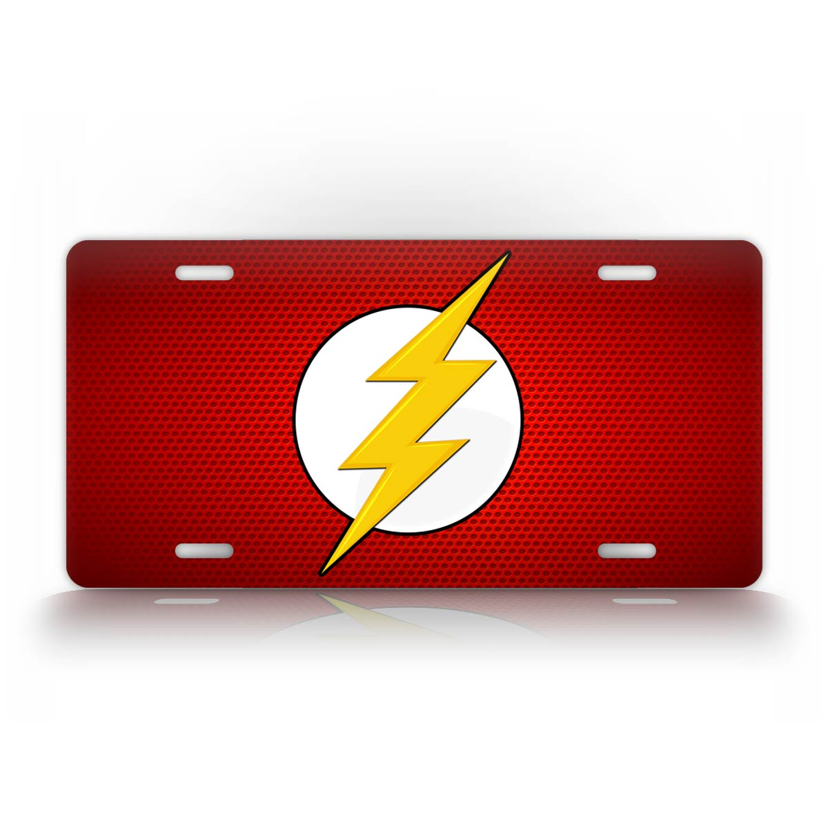 The Flash Comic Book DC Red License Plate Barry Allen Auto Tag
