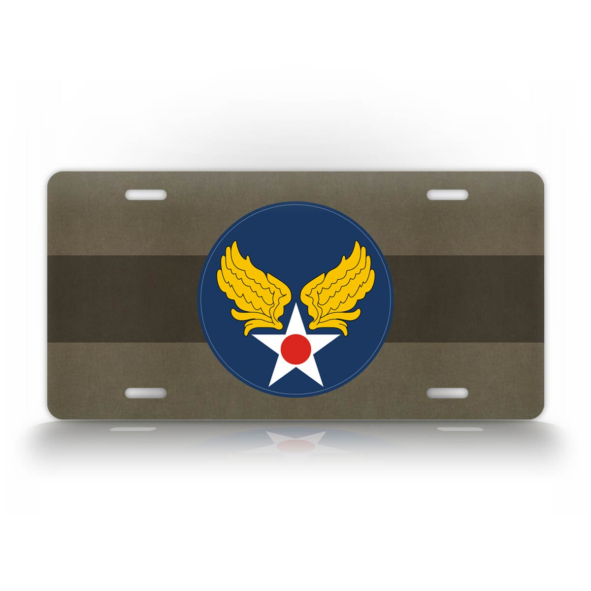 US Air Force Patch WWII Army Air Corps Patch License Plate