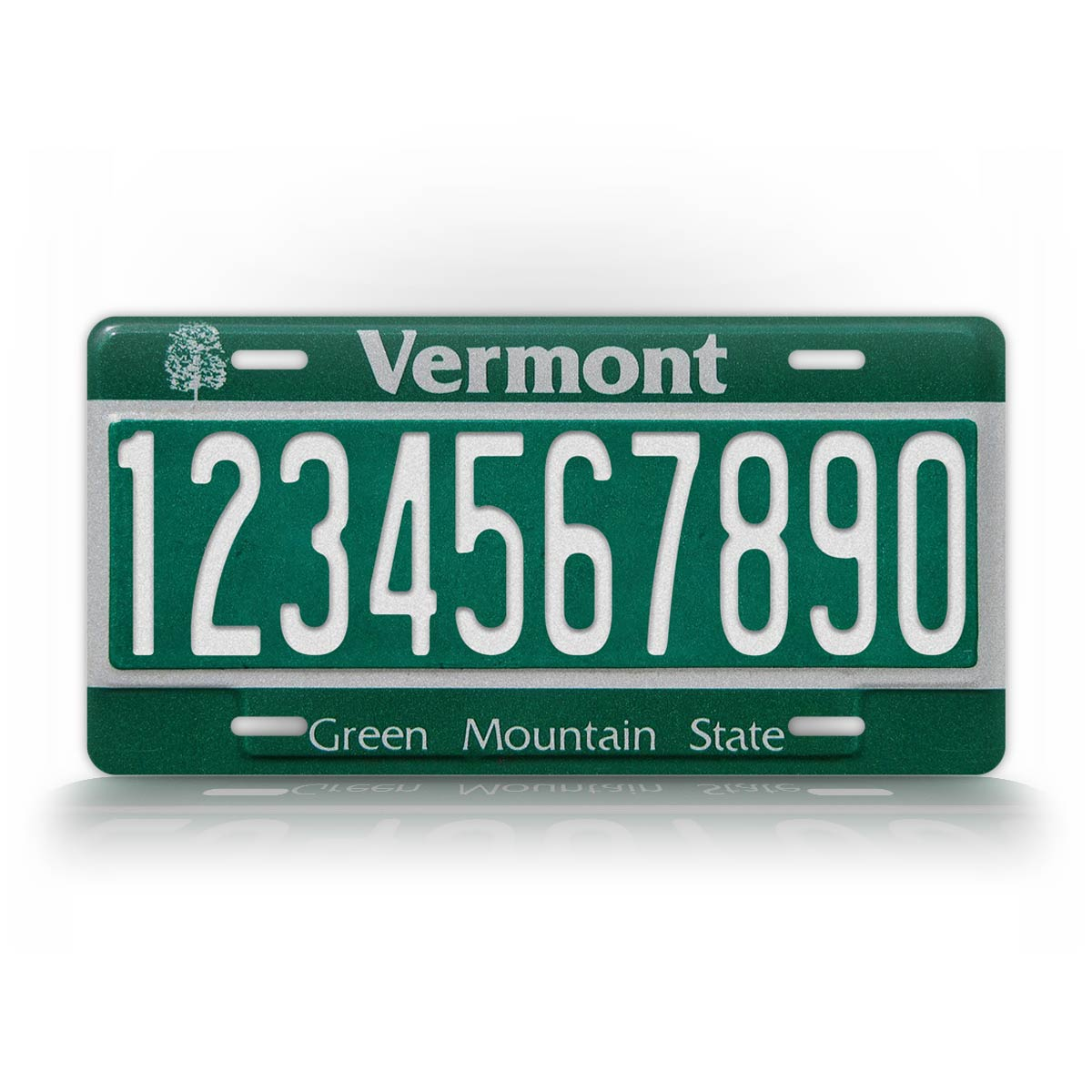 Custom Text Vermont Auto Tag