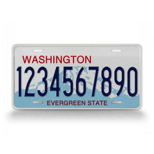 Custom Text Washington State Auto Tag