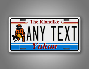 Any Text Custom Yukon Canada Novelty License Plate