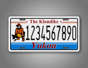 Personalized Yukon Canada Personalized Novelty License Plate