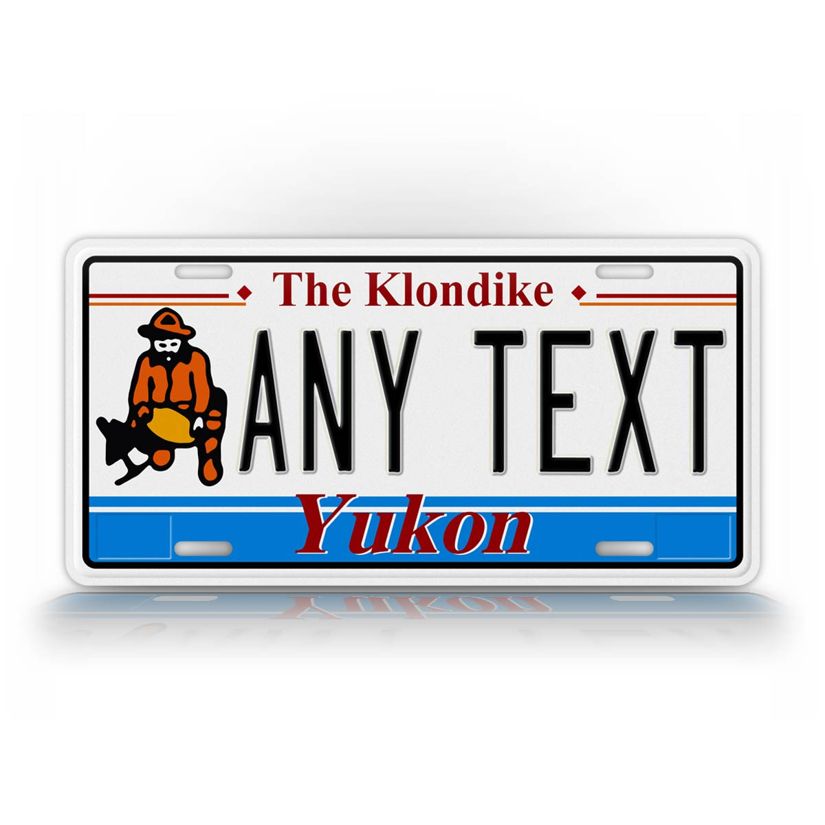 Custom Yukon Canada Novelty License Plate