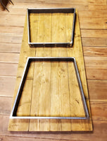 Trapezoid Table Frames  - (1 x Frame)