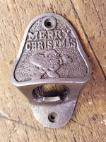 Merry Christmas Bottle Opener