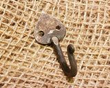 Gothic Hand Forged Hook 2""
