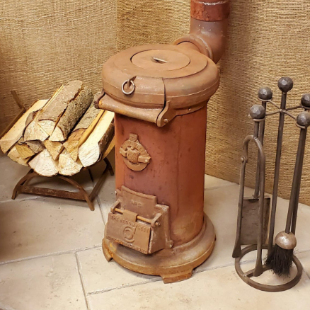 The 'Broomfleet' Stove - Vintage Cast Iron