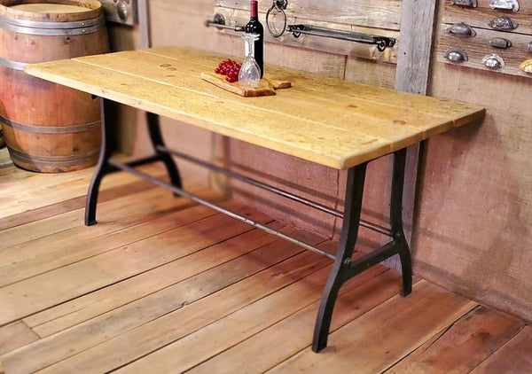 The Abbot - Antique Iron Table Kit - (Metal components only - no top)