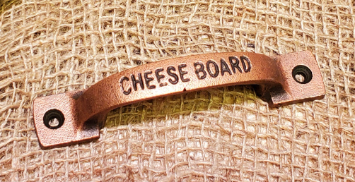Cheese Board Handle - Antique Copper