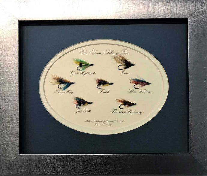 Salmon Fly Collection - Framed Flies.co.uk