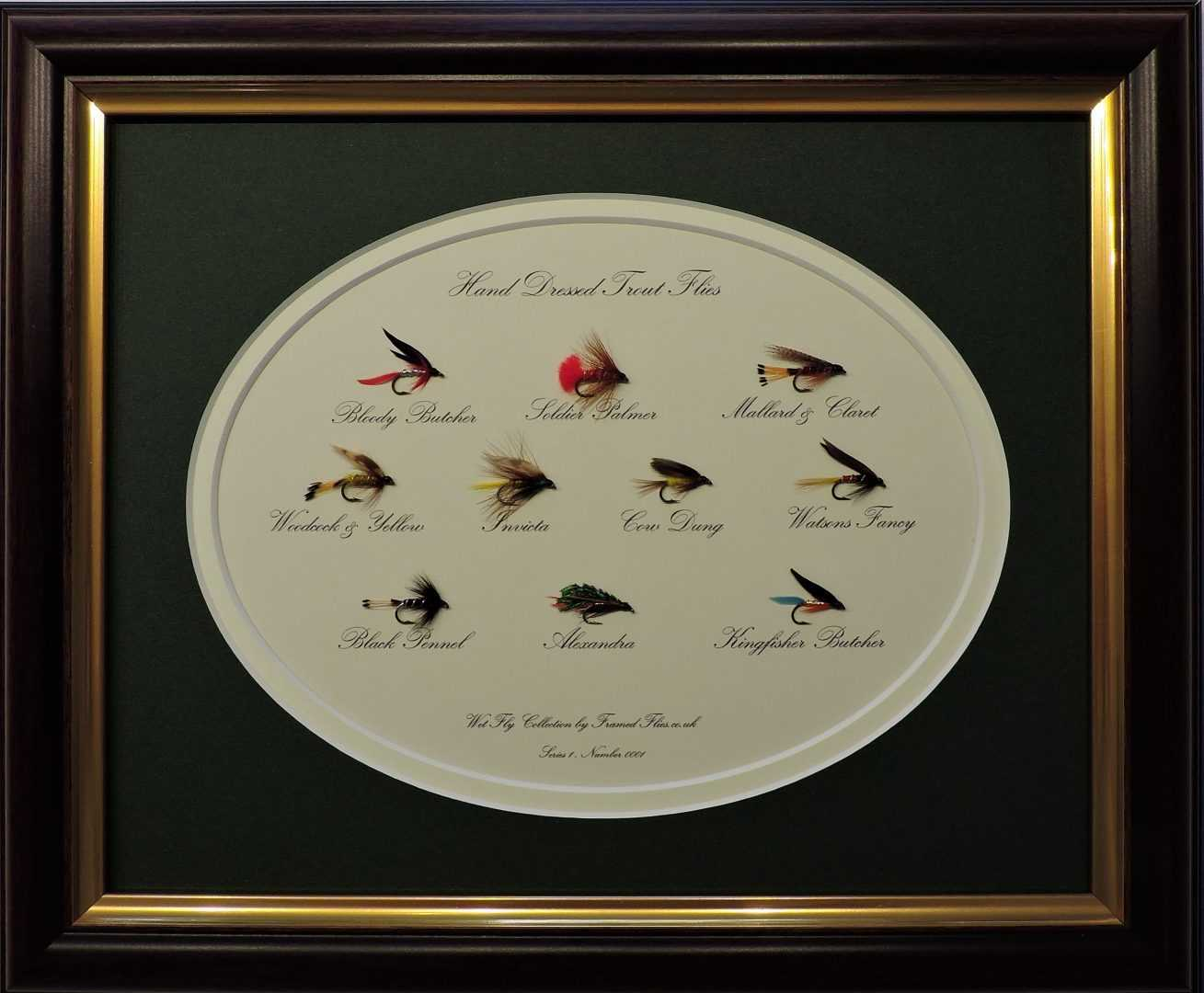 Wet Fly Collection - Framed Flies.co.uk