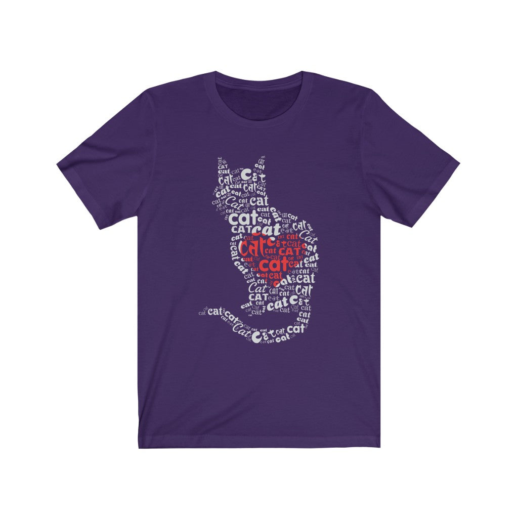 Cat Lover Heart Tee