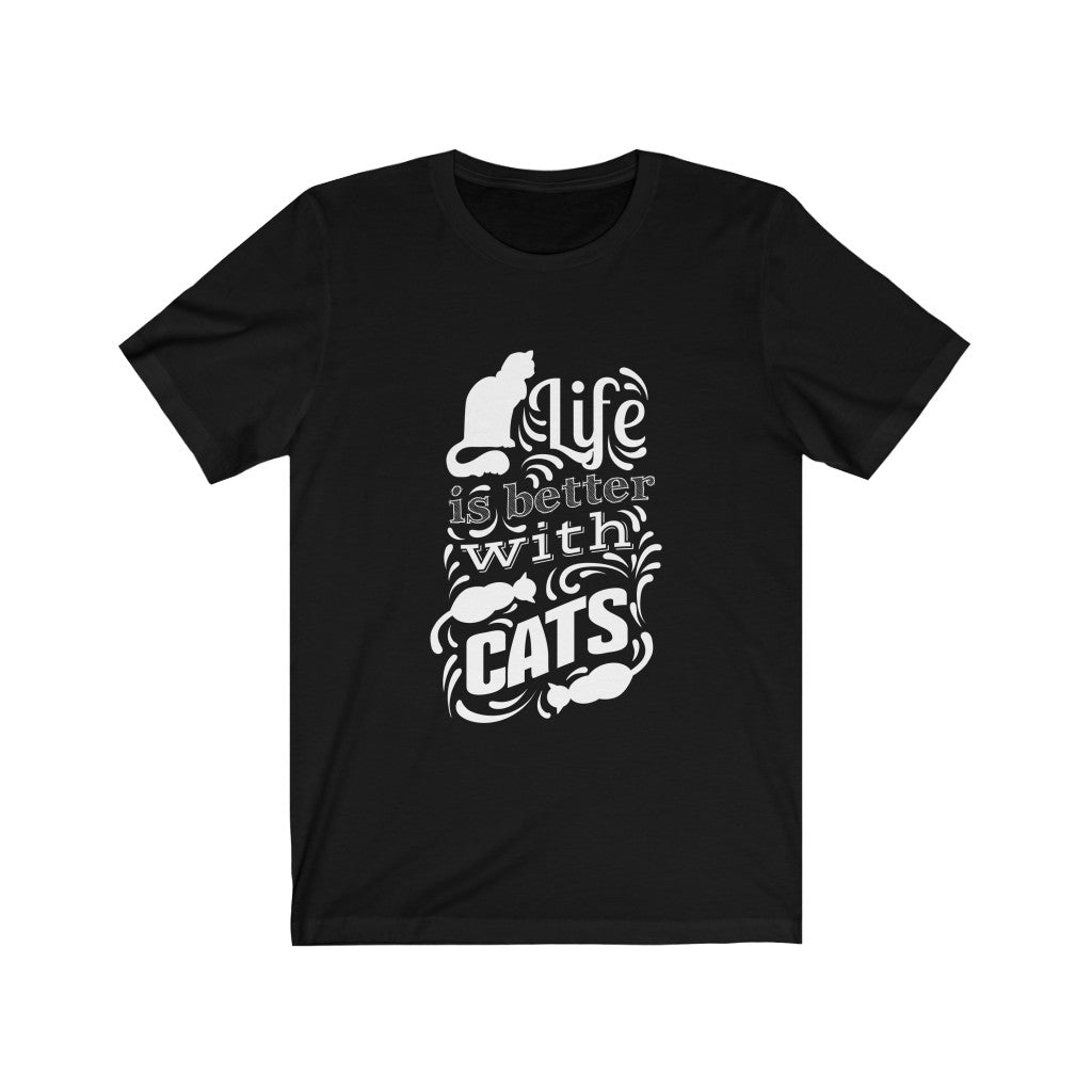 'Life is Better with Cats' Tee
