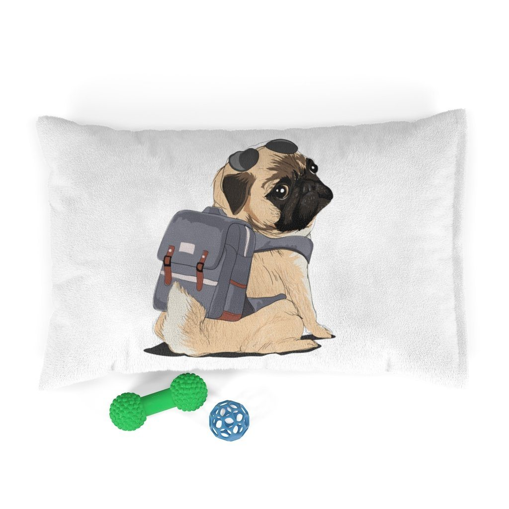 Cute Travel Pug Pet Bed Pets 28x18