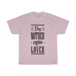 Dog Mother Coffee Lover - Light T-Shirt Light Pink S