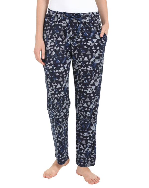 Geometric Print Sleep Wear Pyjama