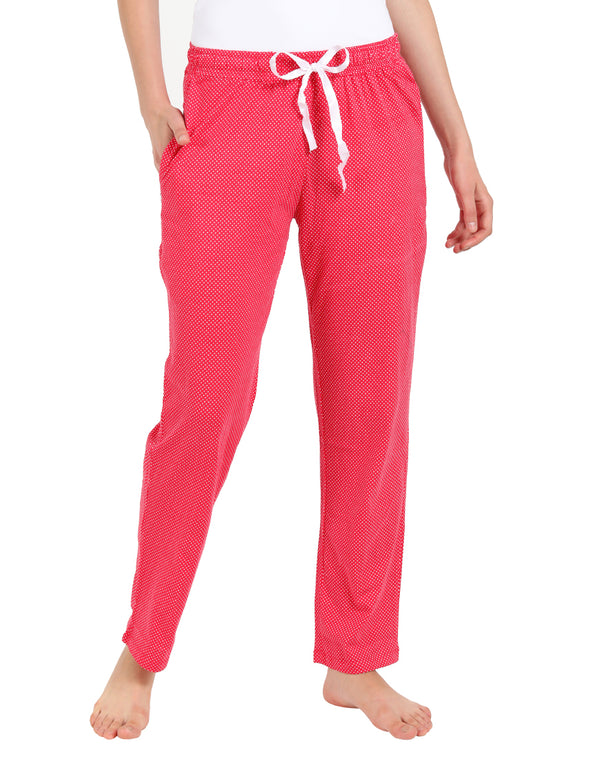 Super Soft & Comfortable Pyjama in Hot Pink Color