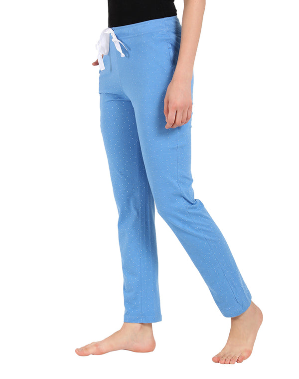 Sky Blue Comfortable Sleepwear Pyjama