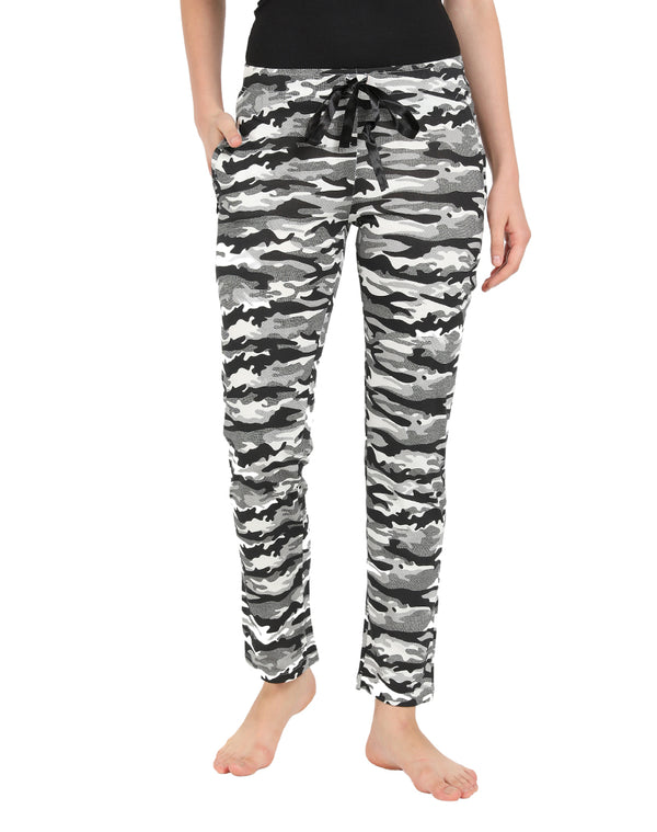 Sleep Wear Pyjamas in Camouflage Print