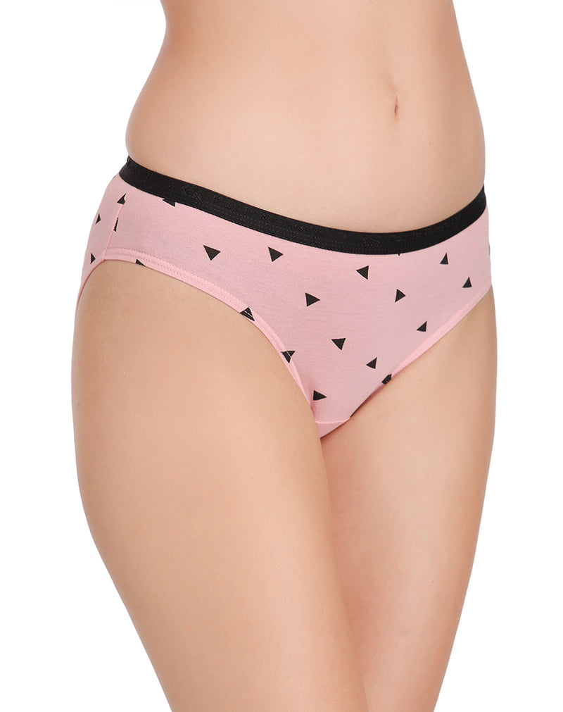 Triangle Print Bikini Panties(Pack of 3)